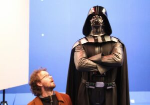Hobbit Frank and Darth Vader