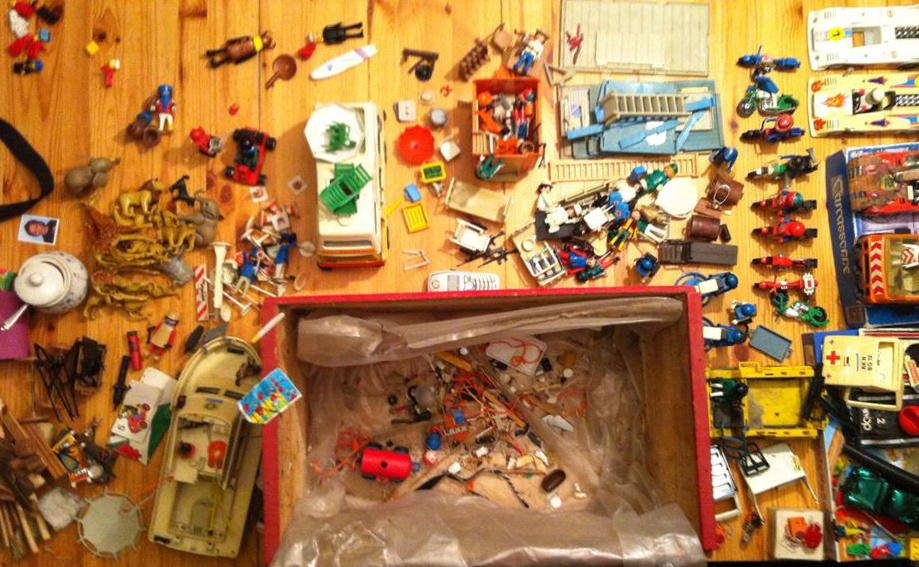 Archeological Dig -- Playmobil from the Barn Attic
