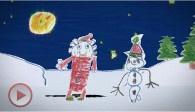Volle Kerstmaan - animatie